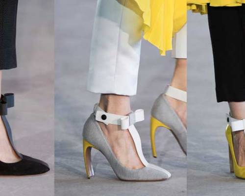 Roksanda Ilincic | London Fashion Week / Semana de la Moda de Londres | Spring-Summer 2014 | Primavera-Verano 2014 | Shoes / Calzado