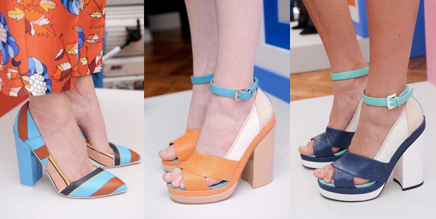 Sophia Webster | London Fashion Week / Semana de la Moda de Londres | Spring-Summer 2014 | Primavera-Verano 2014 | Shoes / Calzado