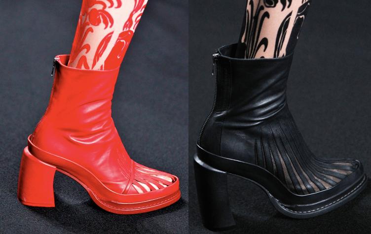 Ann Demeulemeester | Paris Fashion Week / Semana de la Moda de Paris | Spring-Summer 2014 | Primavera-Verano 2014 | Shoes / Calzado