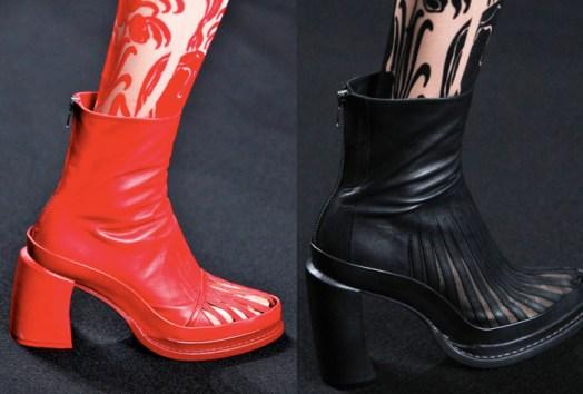 Ann Demeulemeester   Paris Fashion Week / Semana de la Moda de Paris   Spring-Summer 2014   Primavera-Verano 2014   Shoes / Calzado