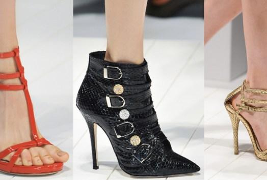 Bluemarine | Milan Fashion Week / Semana de la Moda de Milán | Spring-Summer 2014 | Primavera-Verano 2014 | Shoes / Calzado