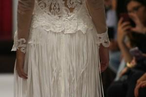 Hiedra Dress Skirt Detail. Collection Vintage by Jordi Dalmau