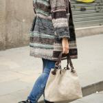 Wool Coat and Brown Bag | Abrigo de Landa y Bolso Marrón ∞ Fall-Winter 2015-16 / Otoño-Invierno 2015-16