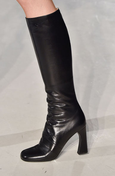 Jil Stuart Fashion Boots. New York Fashion Week. Fall-Winter 2015-2016 / Semana de la Moda de Nueva York. Otoño-Inverno 2015-2016.