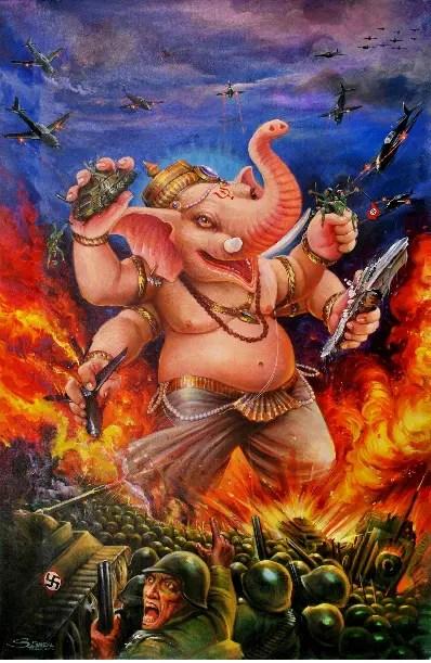 Australian play pits Hitler vs elephant god Ganesh