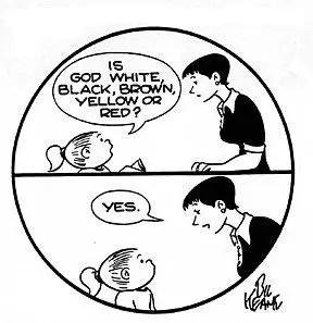 Family Circus cartoonist Bil Keane brought quiet faith to