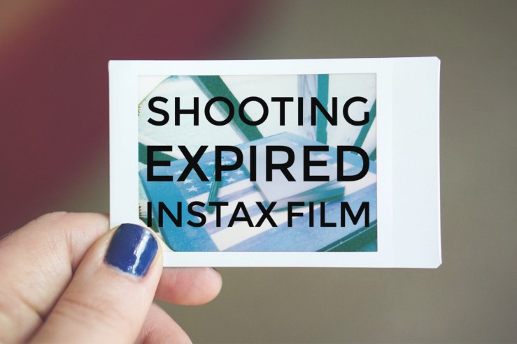 How to shoot expired instax  film