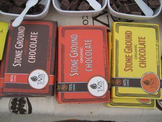 Taza chocolate bars