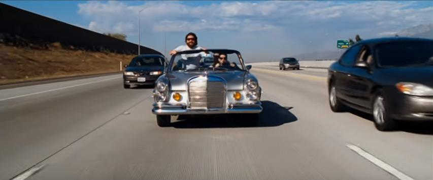 Mercedes-Benz 280 SE, filme Se Beber Não Case - Bem Auto Oficina mecânica especializada no Kobrasol, São José, Florianópolis, Biguaçu, Palhoça - Carros que marcaram a história do cinema