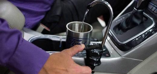 Funcionários da Ford criam bebedouro com água para beber dentro do carro com água gerada pelo sistema de ar-condicionado. Bem Auto oficina especializada no Kobrasol, São José, Florianópolis, Biguaçu, Palhoça.