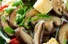 Ceviche de shitake