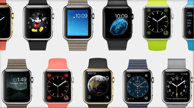 various models of apple watch