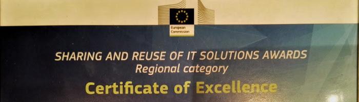Hem rebut el tercer premi de la Comissió Europea