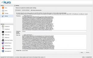 SSL Mutual Authentication settings