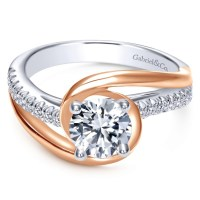 Two Tone Engagement Rings: Bridal Fashion Trends