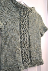 Diamond Panel Pullover by Amy Grace