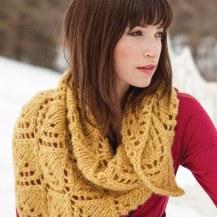 Aude, knit in Kodiak