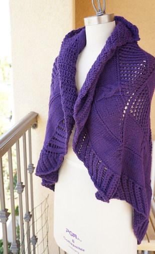 Hearts & Flowers Shawl by Jean Chung
