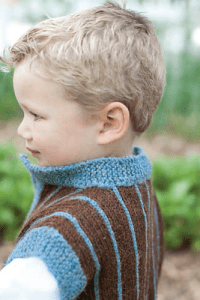 Little Man Waistcoat by Lissa Snyder