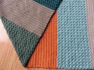 Modern Stripes Baby Blanket by Kelly Komejan