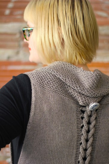 Interplait Vest by Courtney Spainhower for Holla Knits