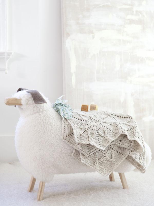 Snowflake Blanket crochet pattern in Berroco Comfort