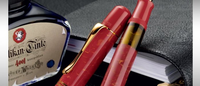 Pelikan M101N Bright Red Special Edition