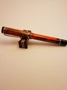 Conklin Duragraph Amber Fountain Pen