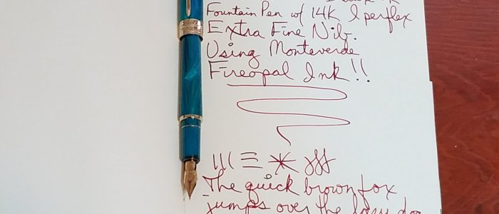 Pineider Avatar UR Deluxe Fountain Pen