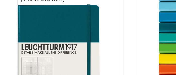 Leuchtturm1917 A5 Hardcover Journal
