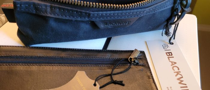 Blackwing Black Pencil Pouch