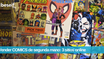 Vender comics segunda mano