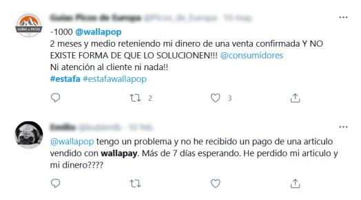 wallapay problemas
