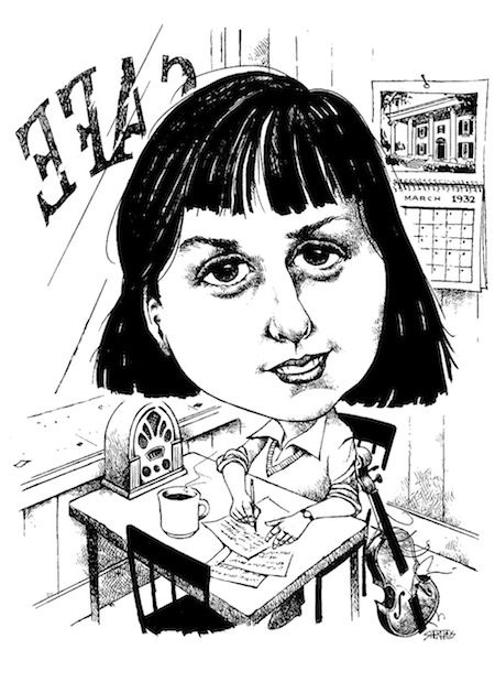 The Mutual Muse: A Poet Whines & A Caricaturist Draws a