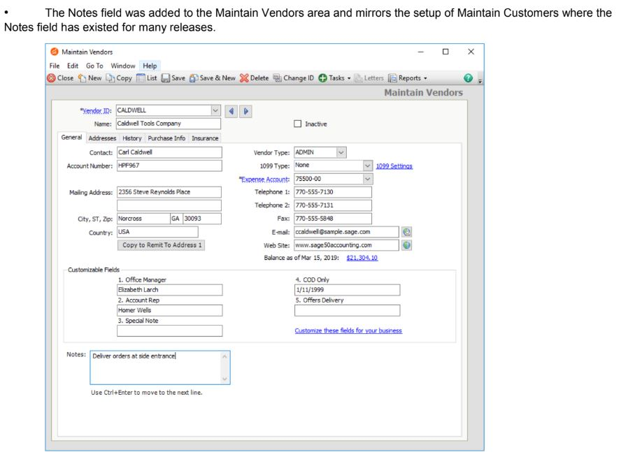 Detailed Review- New Features Sage 50 2020 Release!