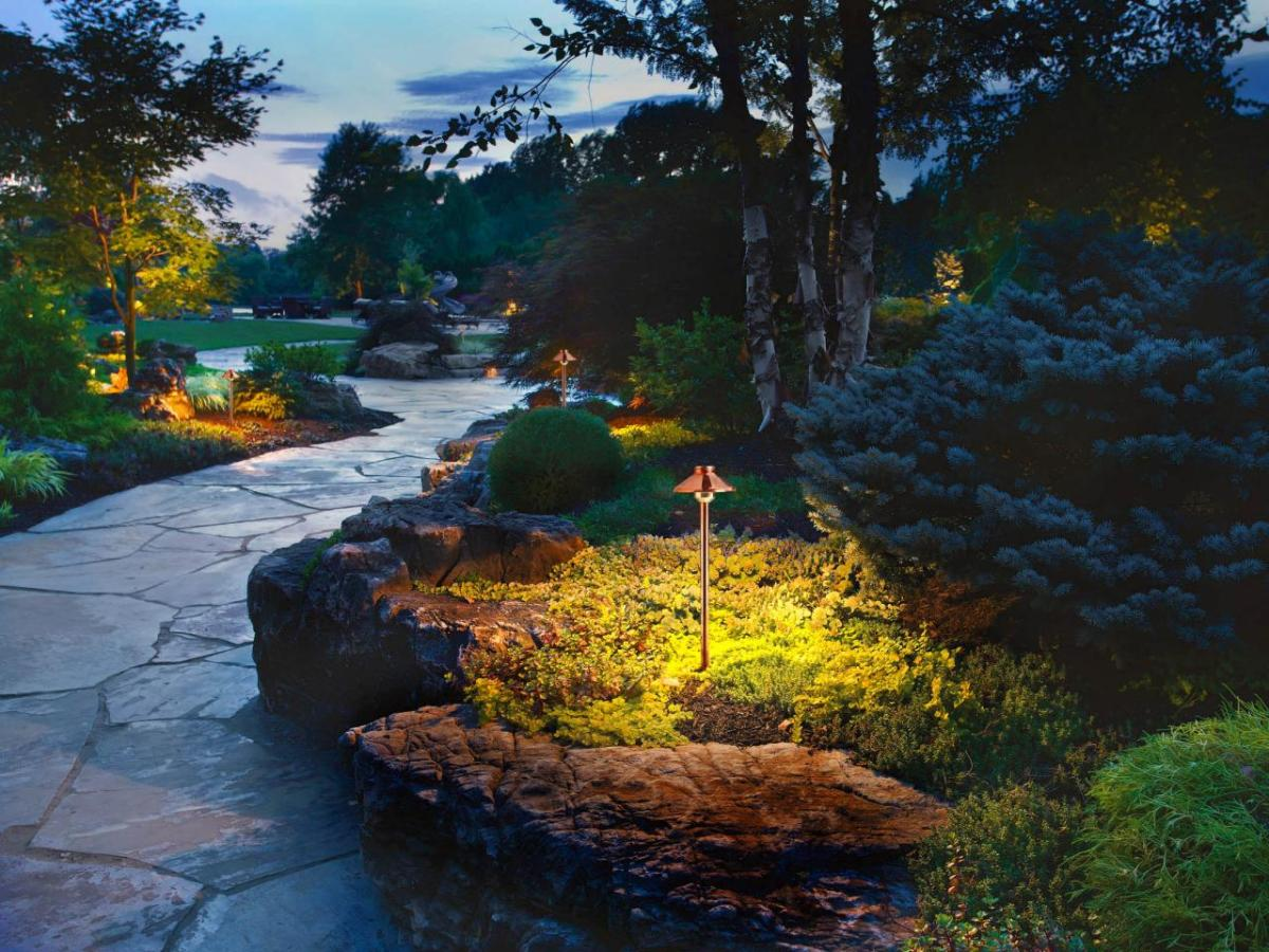 Going Green With Landscape Lighting