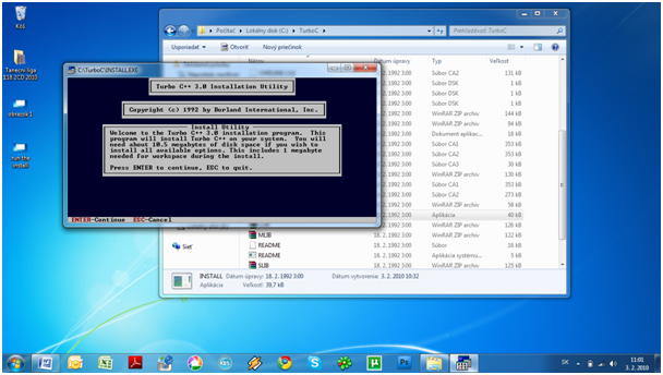 step3 How to install Turbo C++ on Windows 7
