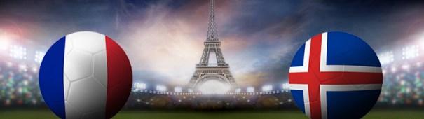 Fußball-EM 2016 - Frankreich vs. Island Viertelfinale 3. Juli