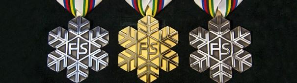 FIS Medaillen Gold Silber Bronze