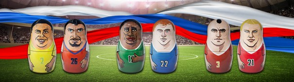 WM 2018 - Brasilien vs. Costa Rica, Nigeria vs. Island, Serbien vs. Schweiz