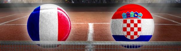 Davis Cup Finale 2018 Frankreich - Kroatien