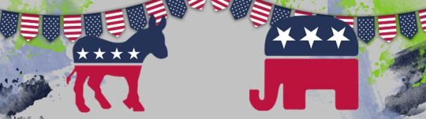 US Präsidentschaftswahl 2020 Header