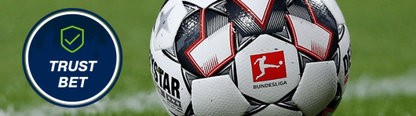 TrustBet bet at home Bundesliga Header