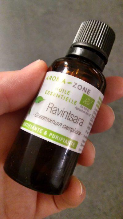 l'huile essentielle précieuse le ravintsara