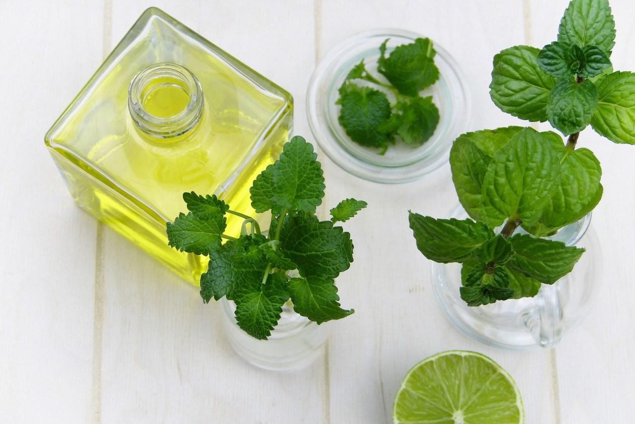 huile essentielle de menthe poivree