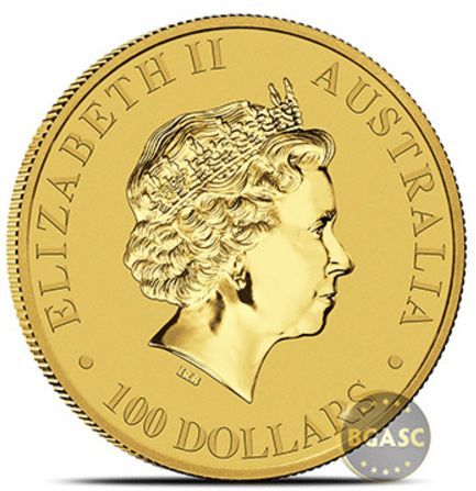 2017 australian gold 100 dollar front