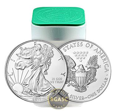 2017 silver eagle rolls