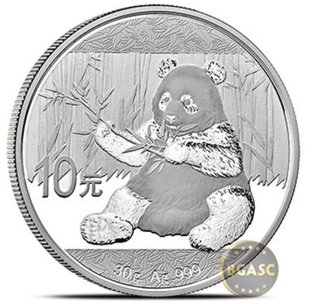 2017 silver panda bgasc