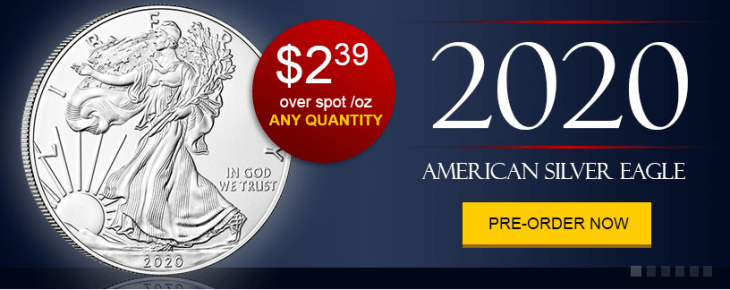 2020 american silver eagles for sale
