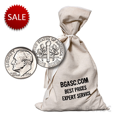 $500 silver dime bag